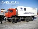 Автомобиль исследования нефтегазовых скважин на шасси Камаз