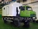 Автомобиль исследования нефтегазовых скважин на шасси Урал