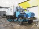Автомобиль исследования нефтяных скважин на шасси Урал 4320