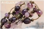 Авторские бусы и браслеты на заказ от 1500 руб