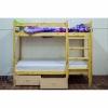 Двухъярусная кровать из массива сосны 70х160