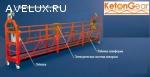 Фасадный подъемник (люлька) Кетонг (Ketong) ZLP 630