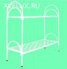 Качественные кровати металлические двухъярусные для лагерей