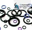 кольца резиновые круглые гидравлические.