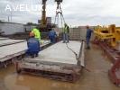 Линия по производству дорожных и аэродромных плит
