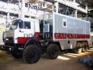 Мобильная лаборатория исследования скважин шасси Камаз 43118