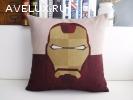 Мягкие подушки супер героев