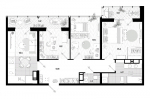 Очень новая 3-х комнатная квартира