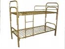 Оптом и в розницу реализуем металлические кровати ГОСТ