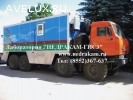 Подъемник исследования газовых скважин на шасси Камаз 4310