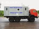Подъемник исследования газовых скважин на шасси Камаз 43114