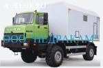 Подъемник исследования газовых скважин на шасси Урал