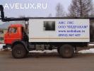 Подъемник исследования нефтяных скважин на шасси Камаз 4310
