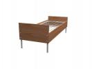 Прочные металлические кровати с доставкой