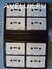 Продаю набор из 8 аудиокассет в футляре.