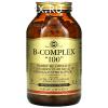 Солгар, витамины, B-Complex 100, растительные, 250 шт