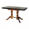 Стол Прямоугольный деревянный обеденный на двух ножках