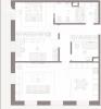 Трехкомнатная квартира в особняке, Полянка 44 – 97 кв.м.