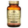 Витамин Д3 D3 холекальциферол 10000 МЕ 120 капсул, Солгар