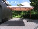 Зонт с боковой стойкой 3х3 м усиленный